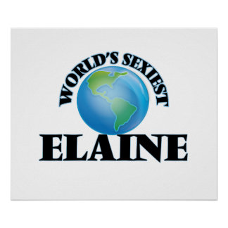 World's Sexiest Elaine Poster