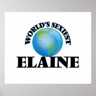 World's Sexiest Elaine Print