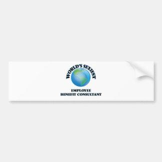World's Sexiest Employee Benefit Consultant Bumper Sticker