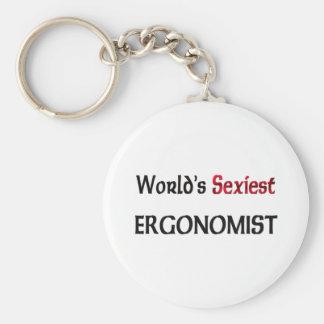 World's Sexiest Ergonomist Key Chains