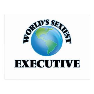 World's Sexiest Executive Postcard