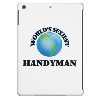 World's Sexiest Handyman iPad Air Cases