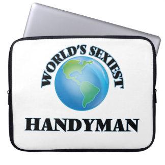 World's Sexiest Handyman Computer Sleeve