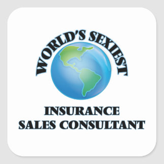 World's Sexiest Insurance Sales Consultant Stickers