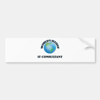 World's Sexiest It Consultant Bumper Stickers
