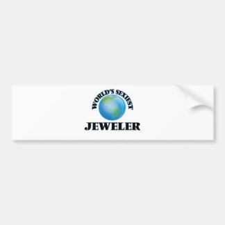 World's Sexiest Jeweler Bumper Stickers
