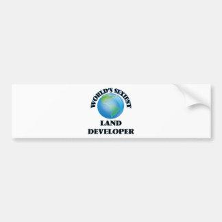World's Sexiest Land Developer Bumper Sticker