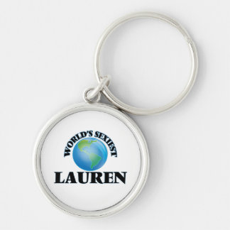 World's Sexiest Lauren Key Chain