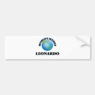 World's Sexiest Leonardo Bumper Stickers