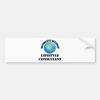 World's Sexiest Lifestyle Consultant Bumper Sticker