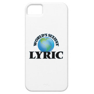 World's Sexiest Lyric iPhone 5/5S Cases