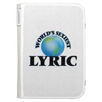 World's Sexiest Lyric Kindle 3 Covers
