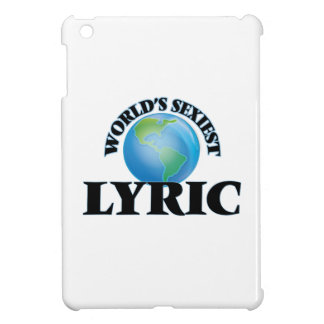 World's Sexiest Lyric Cover For The iPad Mini