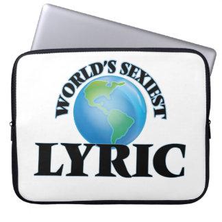 World's Sexiest Lyric Laptop Sleeve
