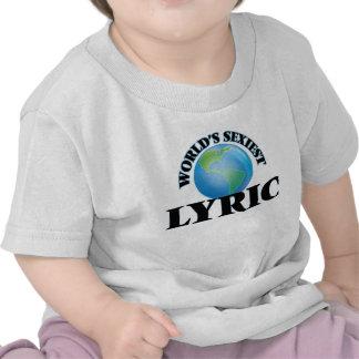 World's Sexiest Lyric Shirt