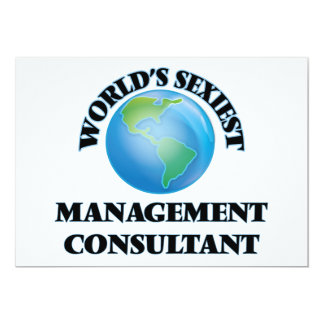 World's Sexiest Management Consultant Invitations