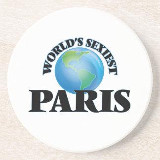 World's Sexiest Paris Beverage Coaster