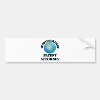 World's Sexiest Patent Attorney Bumper Stickers