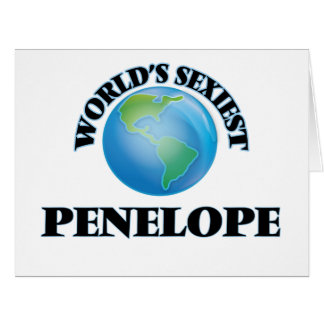 World's Sexiest Penelope Card