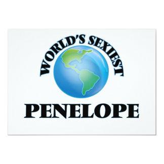 World's Sexiest Penelope Custom Invitation