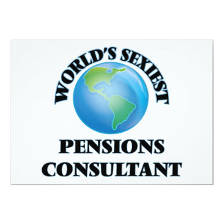 World's Sexiest Pensions Consultant Custom Announcements
