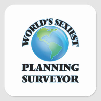 World's Sexiest Planning Surveyor Sticker