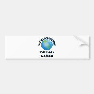World's Sexiest Railway Gasser Bumper Sticker