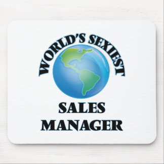 World's Sexiest Sales Manager Mouse Pad