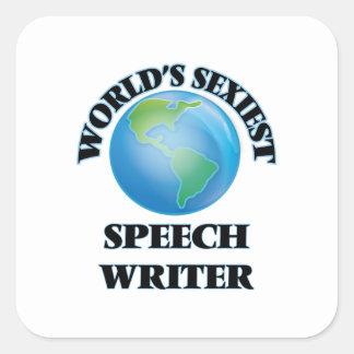 World's Sexiest Speech Writer Sticker