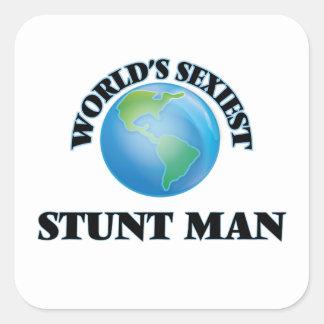 World's Sexiest Stunt Man Stickers