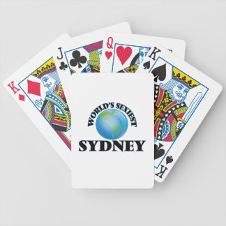 World's Sexiest Sydney Poker Cards
