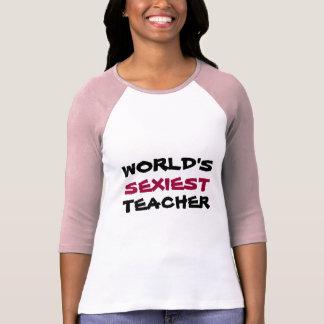 WORLD'S, SEXIEST, TEACHER t-shirts