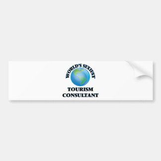 World's Sexiest Tourism Consultant Bumper Stickers