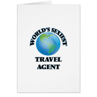 World's Sexiest Travel Agent Card