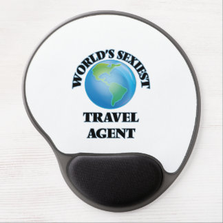 World's Sexiest Travel Agent Gel Mouse Pad
