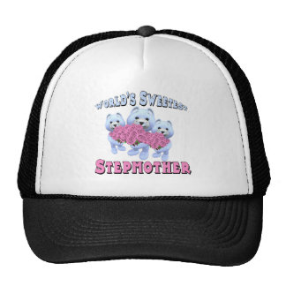 Worlds Sweetest Stepmother Mothers Day Gifts Mesh Hat