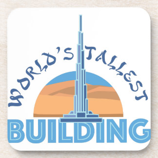 Worlds Tallest Building Beverage Coaster
