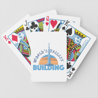 Worlds Tallest Building Poker Deck