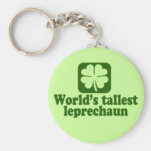 World's Tallest Leprechaun Keychains