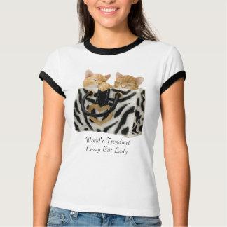 World's Trendiest Crazy Cat Lady T-Shirt