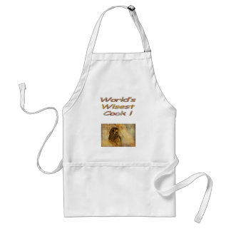 World's Wisest Cook Aprin Standard Apron