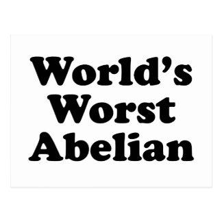 World's Worst Abelian Postcard