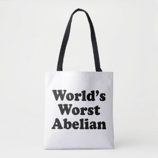 World's Worst Abelian Tote Bag