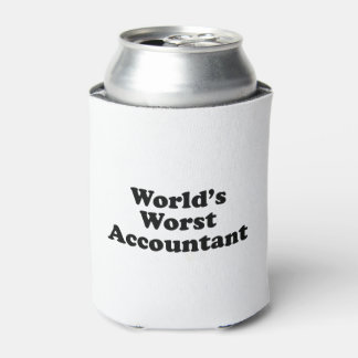 World's Worst Accountant Can Cooler
