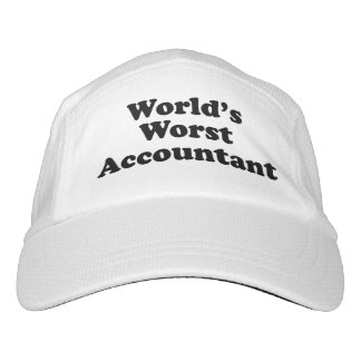 World's Worst Accountant Hat