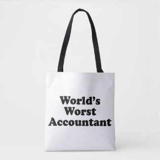 World's Worst Accountant Tote Bag