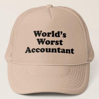 World's Worst Accountant Trucker Hat