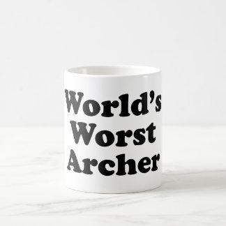 World's Worst Archer Coffee Mug