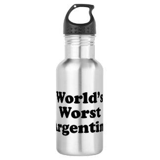 World's Worst Argentine 532 Ml Water Bottle