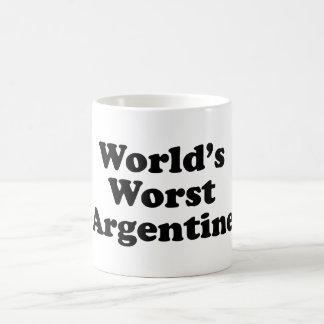 World's Worst Argentine Coffee Mug